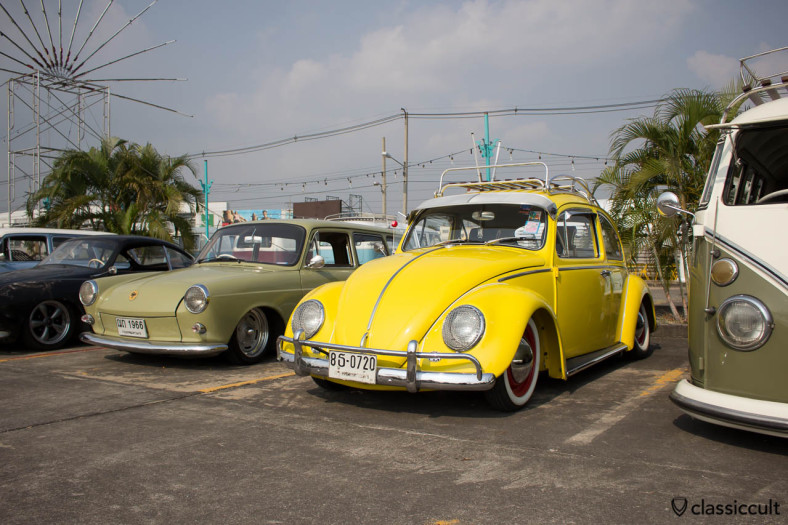 lowered yellow Bug