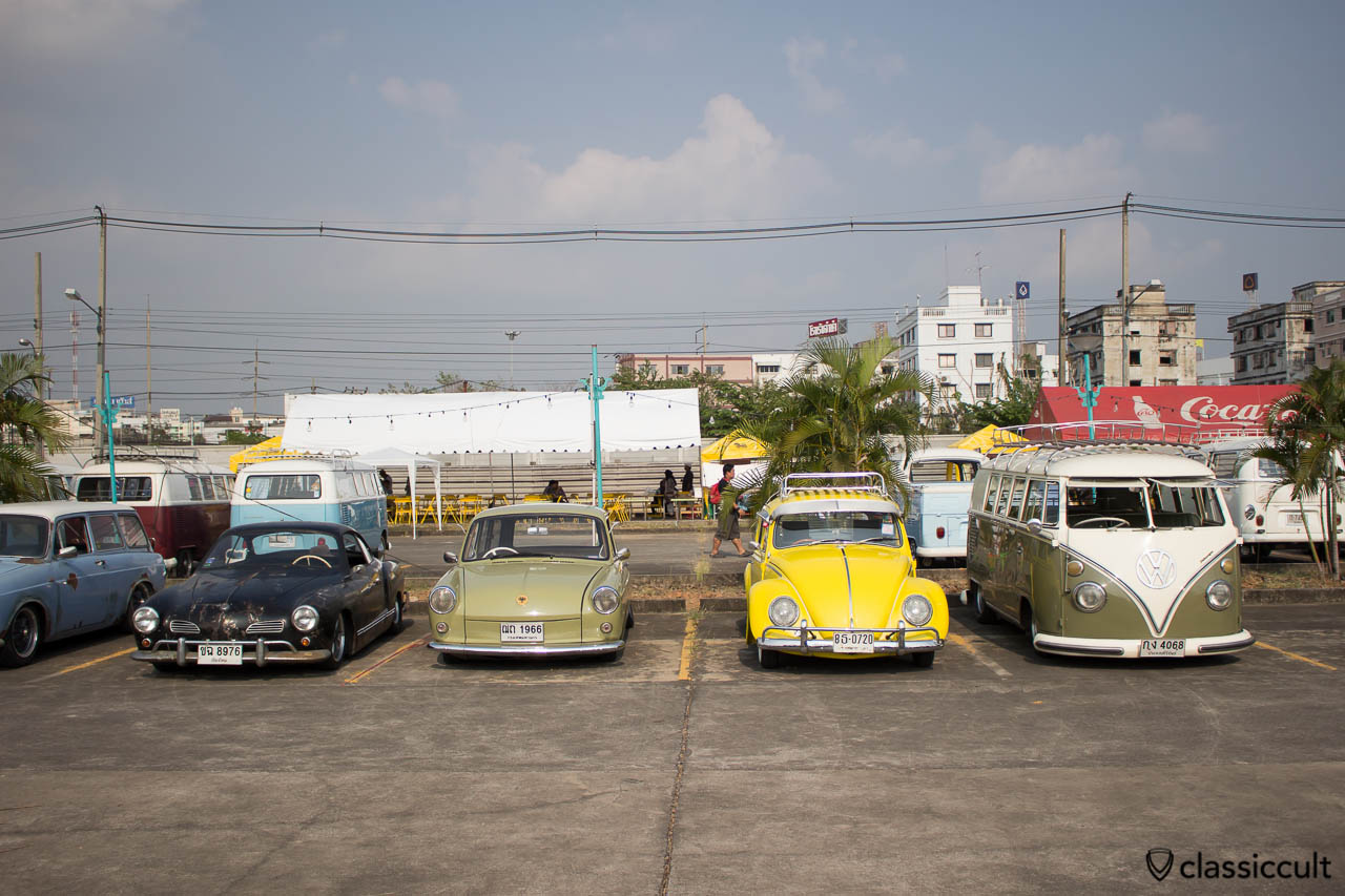 slammed Volkswagen line up at Siam Festival 2014