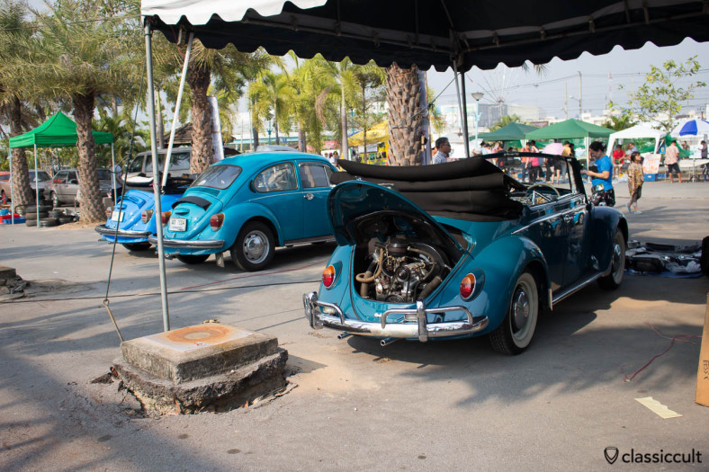 Classic beetle cabriolet