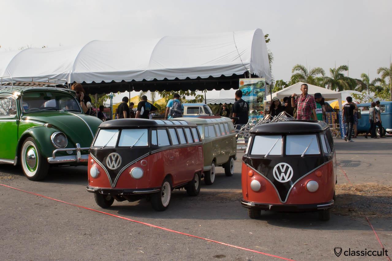 VW T1 Split Samba Bus kids car