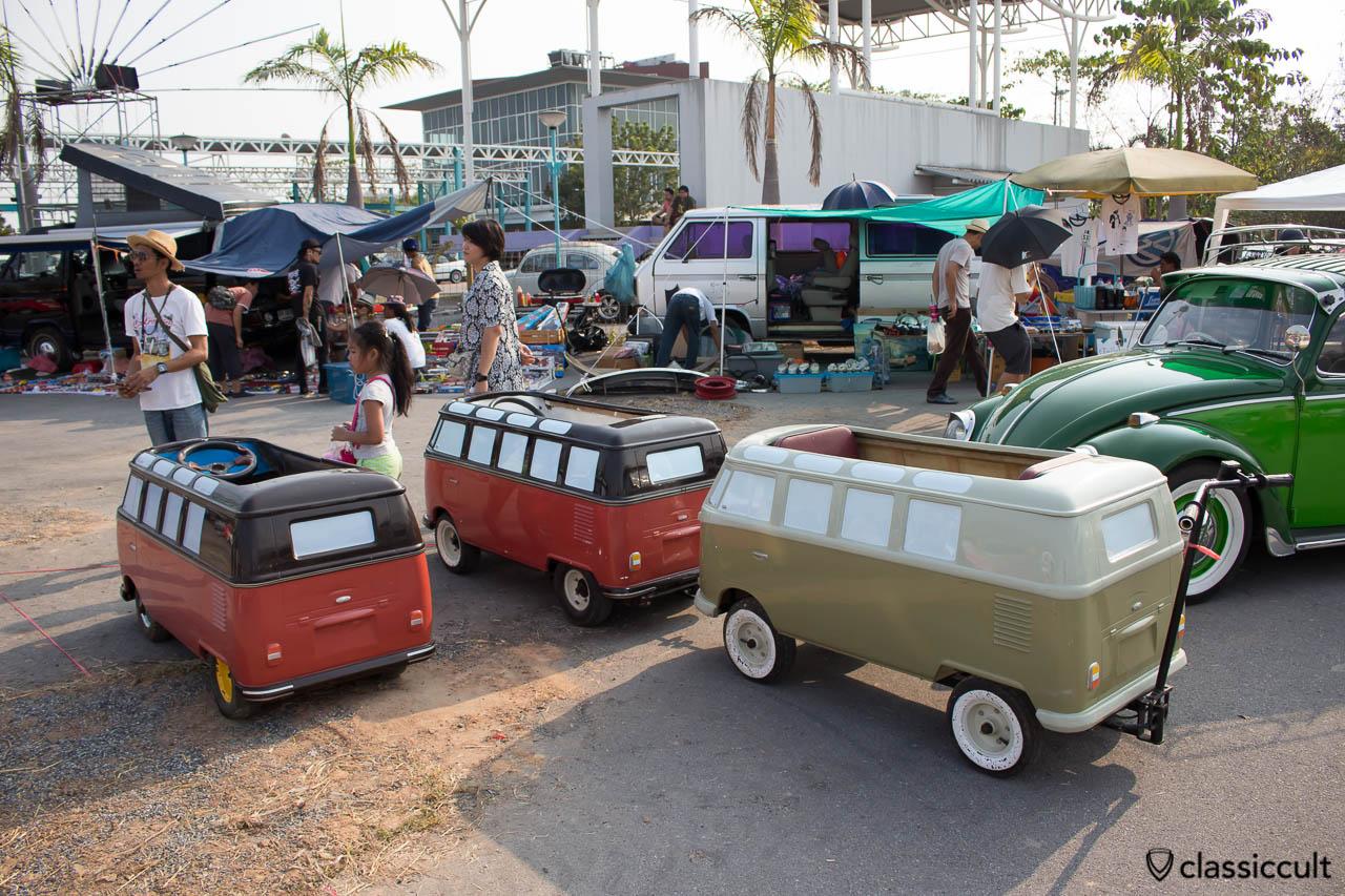 VW T1 Split  Bus kids car