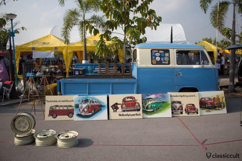 Vintage VW murals (repro)