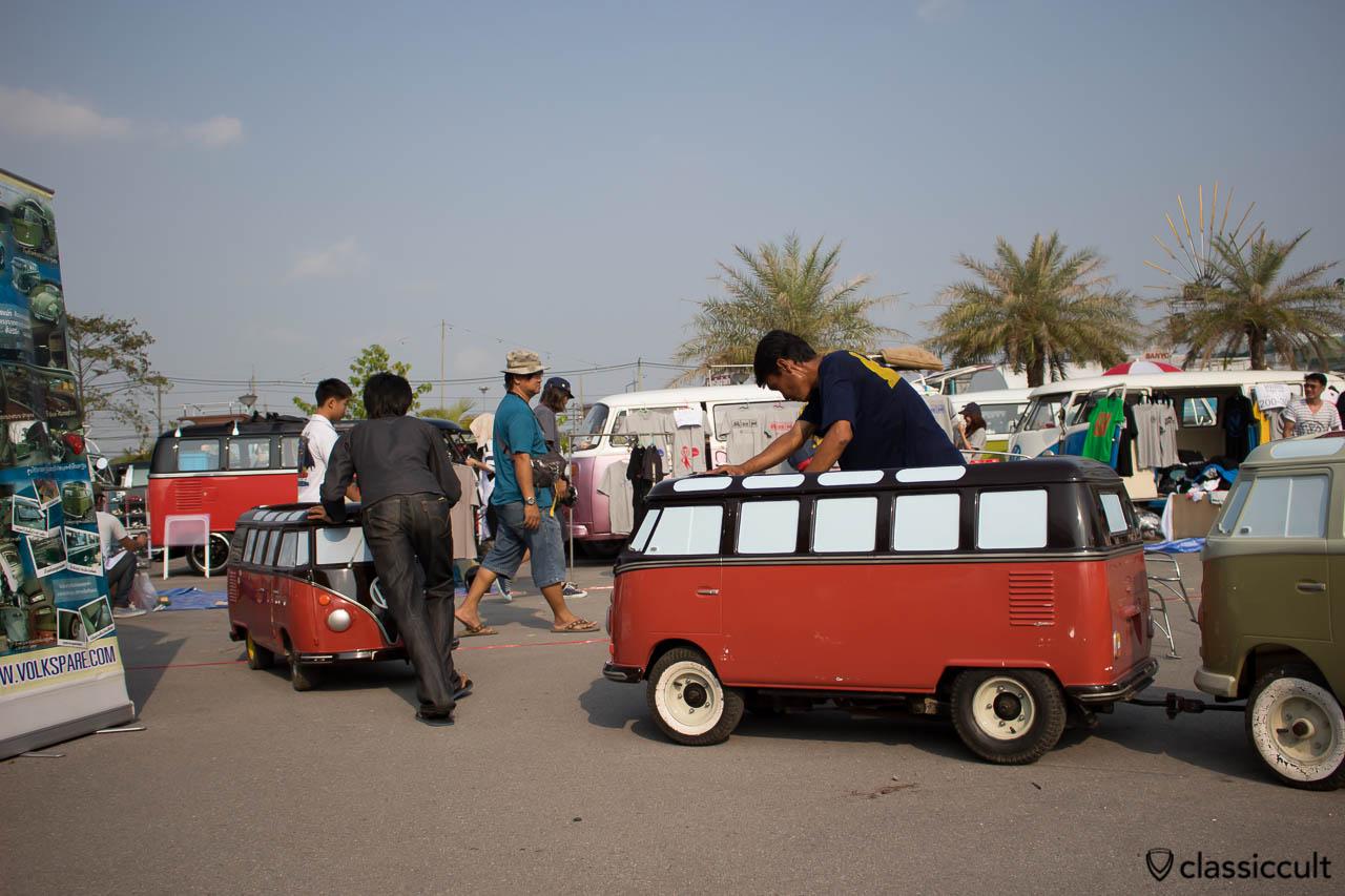 VW T1 Bus kids car, Siam Festival 2014