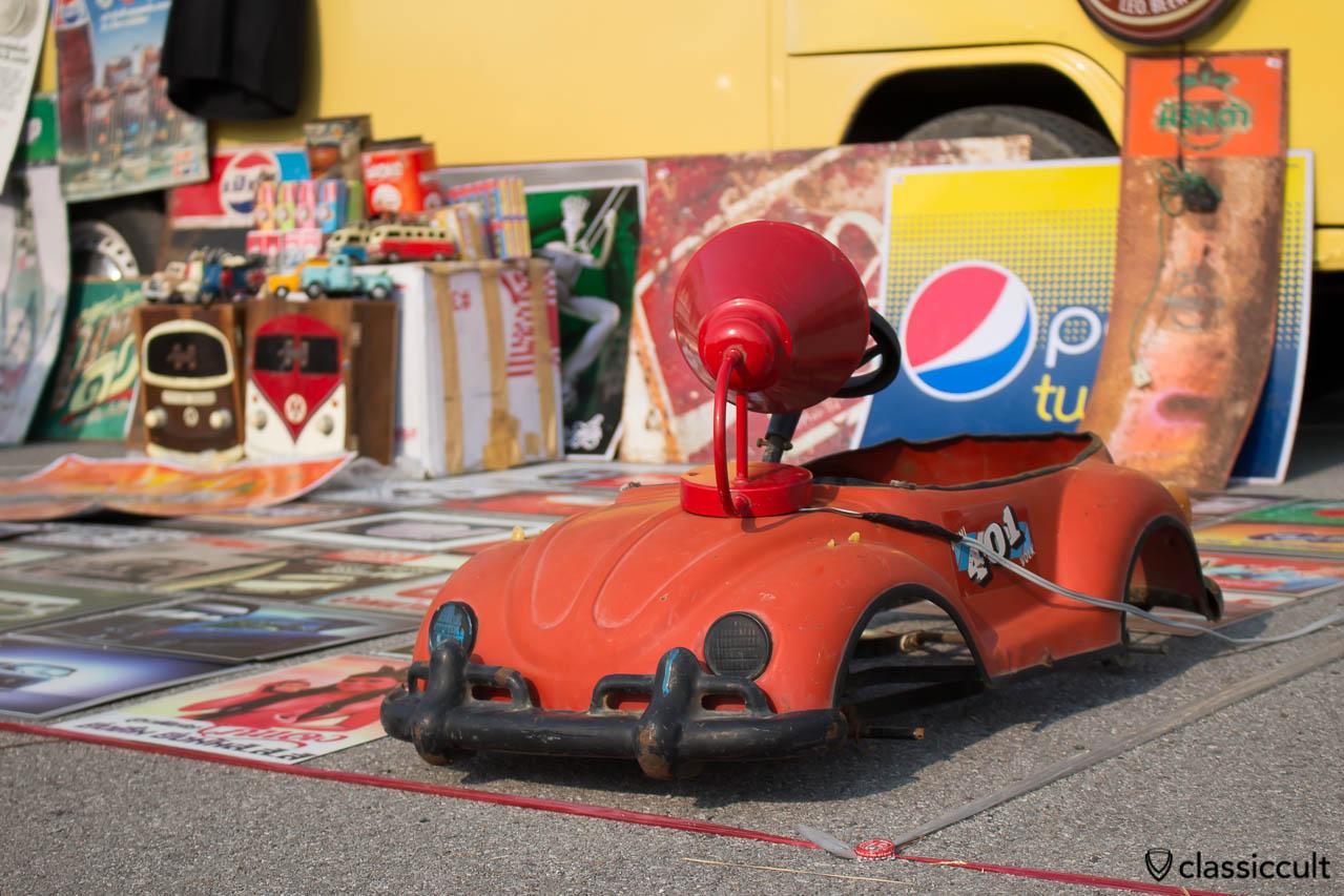 Vintage VW Bug kids car