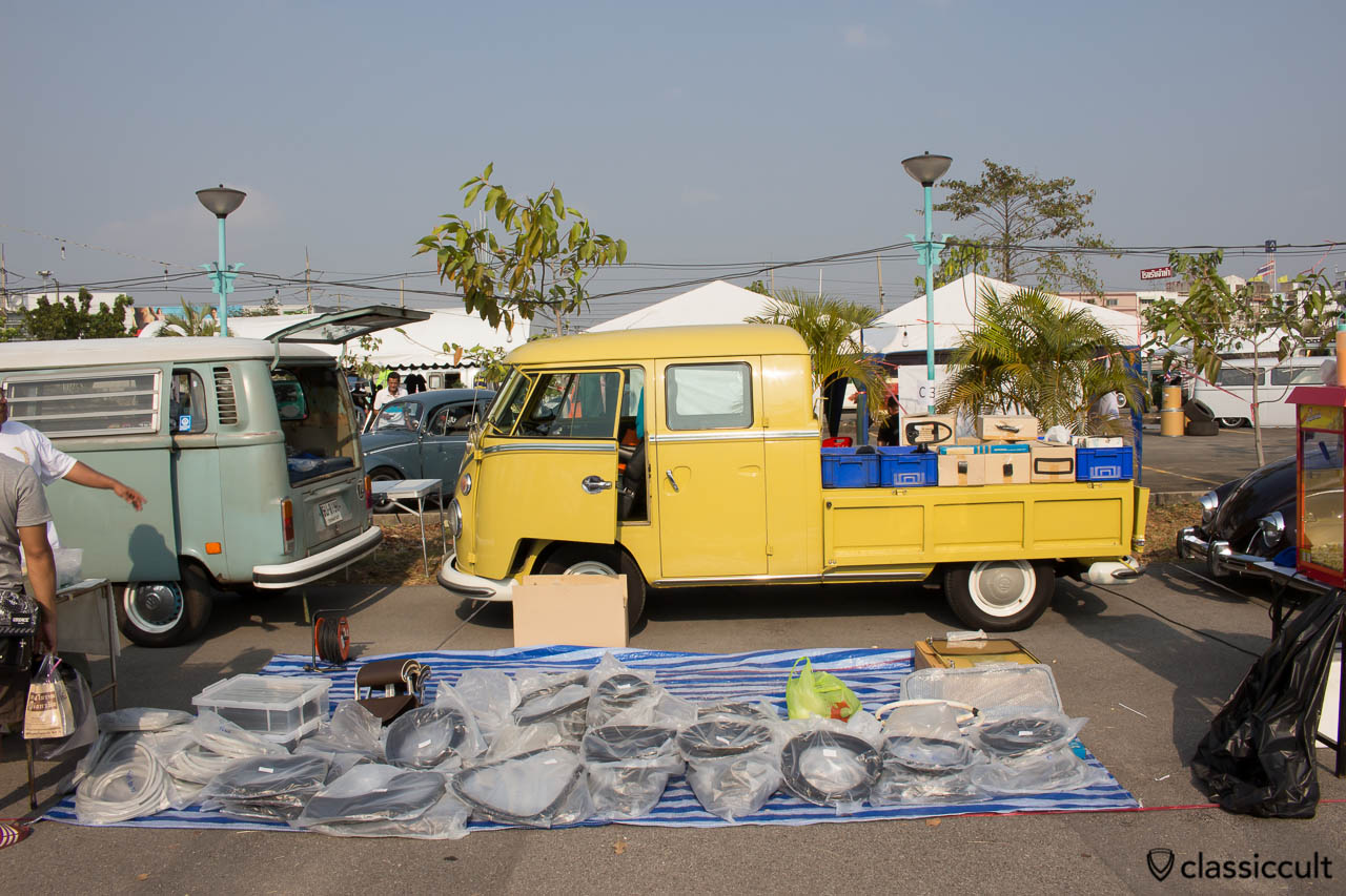 Spare Repro Parts Seller at Siam VW Show