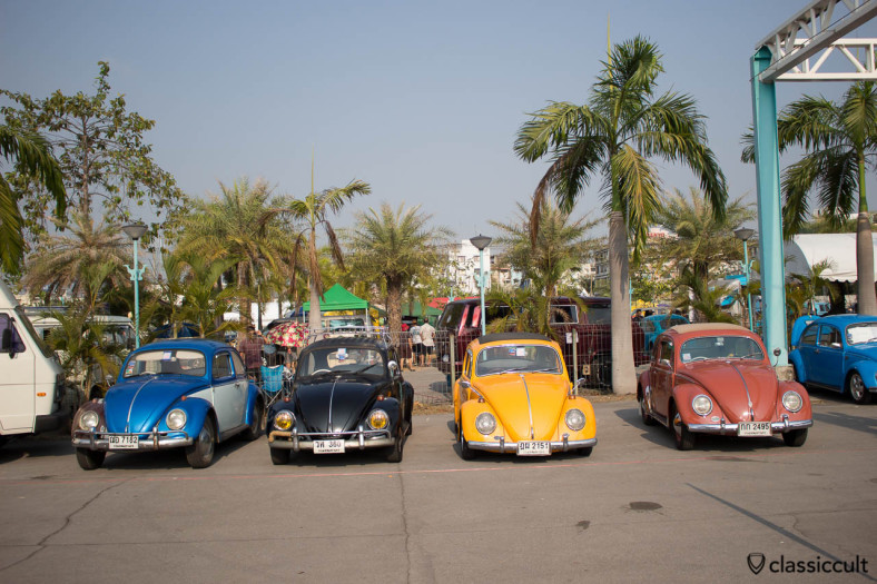 Classic Bugs at Siam VW Show 2014