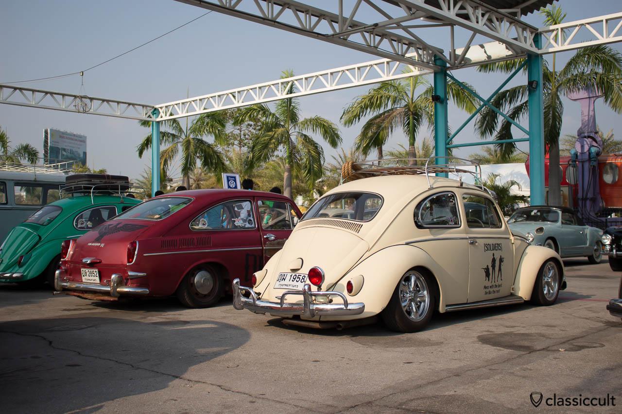 VW Beetle with Bosch rear Fog Lamp