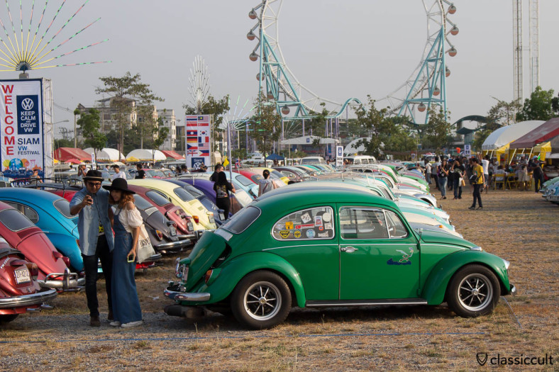 green Beetle from Korat VW Club Thailand