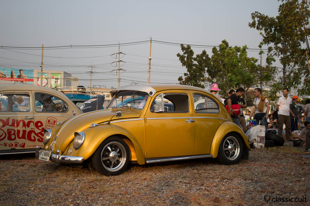 VW Bug with sprint stars, nice, clean, restored