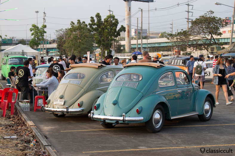 Oval Bugs at Siam VW Festival 2014