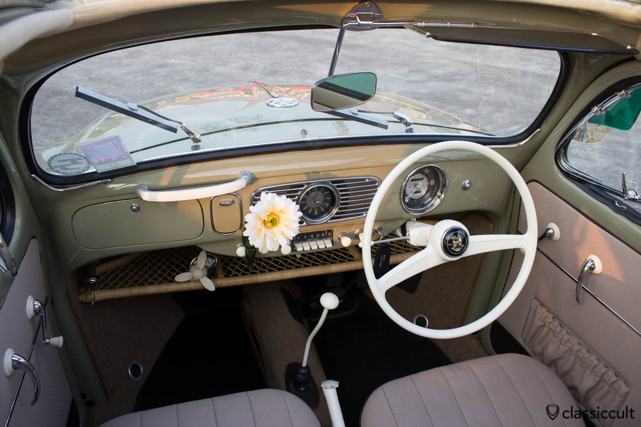 Oval Bug Ragtop Dashboard