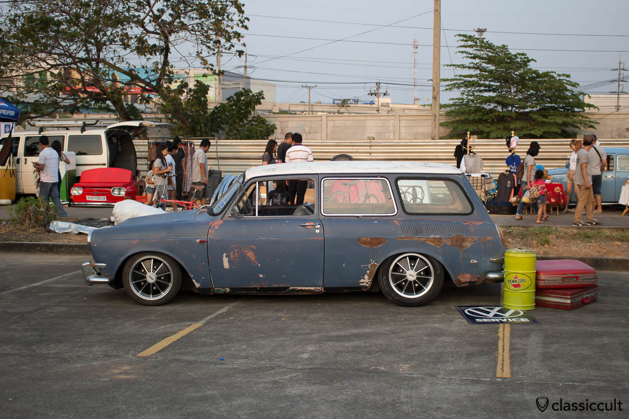 slammed Volkswagen 1600