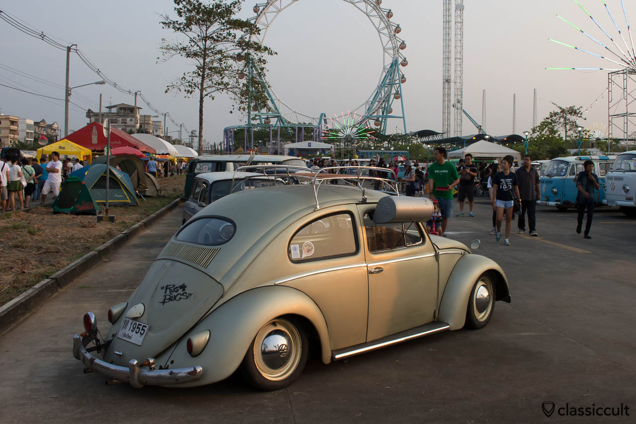 Oval Beetle with swamp cooler