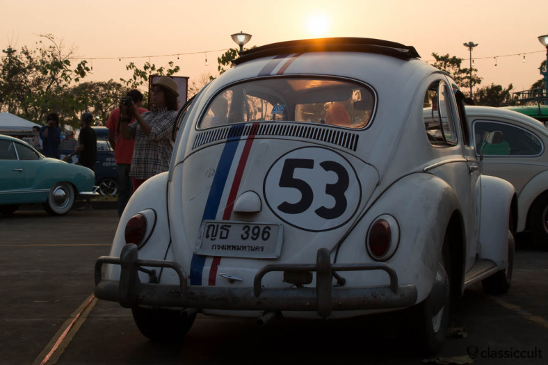 Herbie 53 sunset, Siam VW Festival 2014