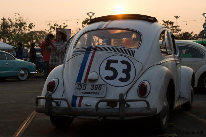 Herbie 53 sunset, Siam VW Festival 2014