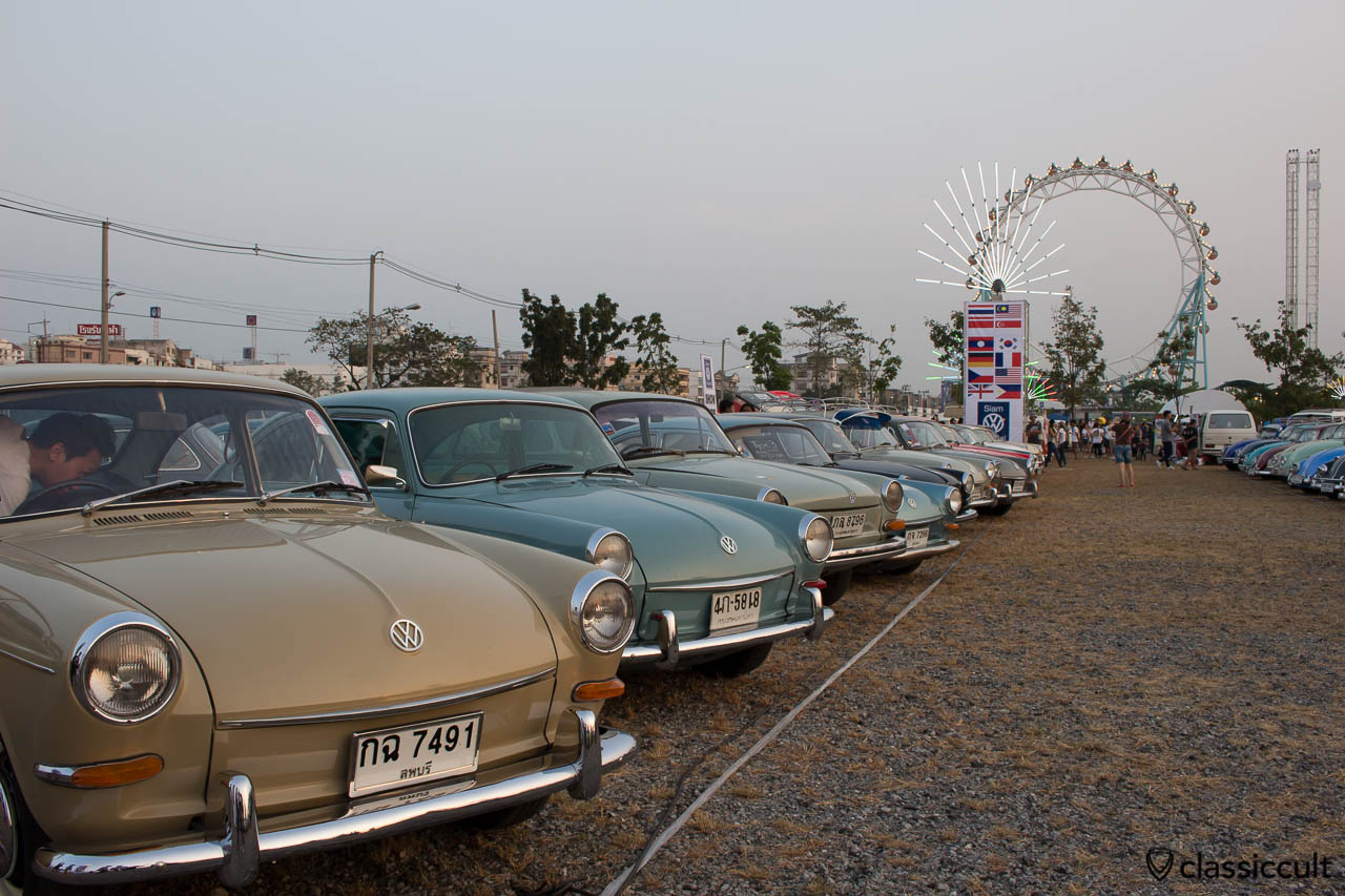Type 3 at Siam VW Show 2014