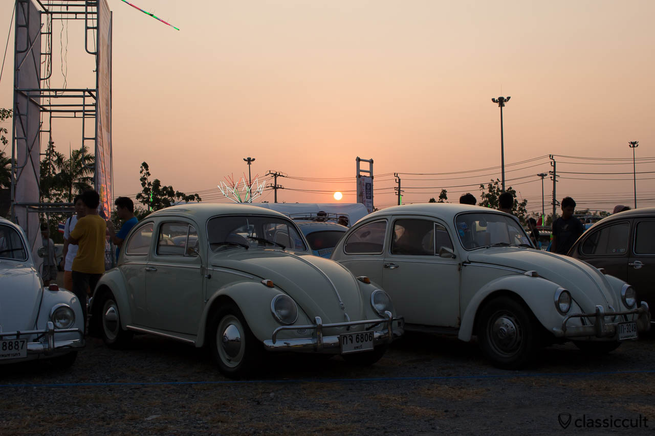 1968 VW Bug Sunset Bangkok