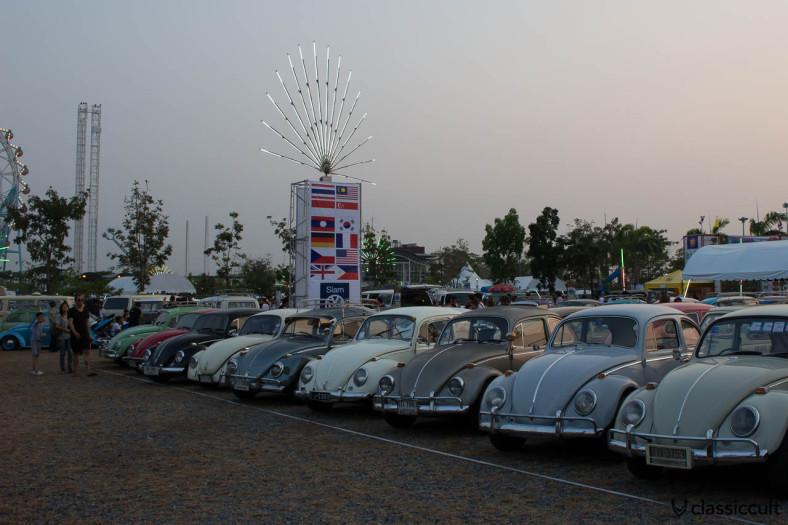 VW Beetles Siam Show Thailand