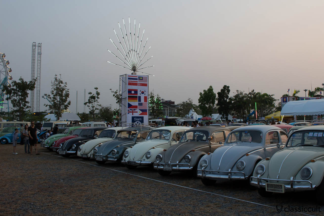 VW Beetles Siam Show Thailand