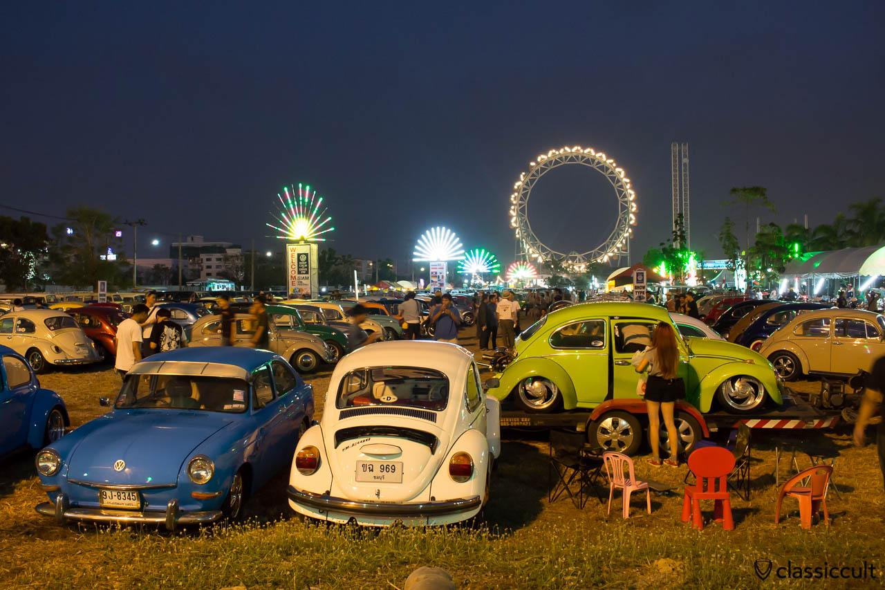 Siam VW Festival terrain at The Wonder World Fun Park in Bangkok.