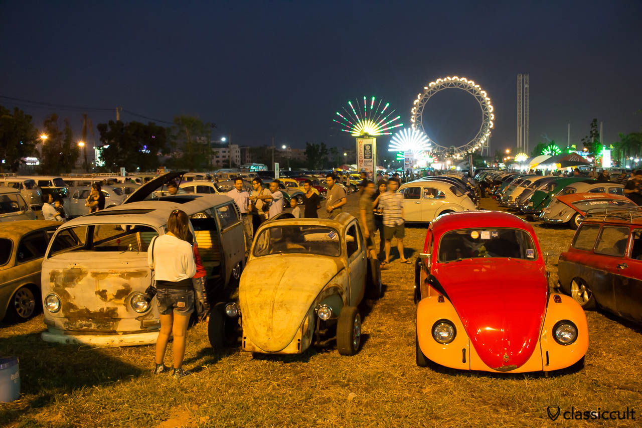Siam VW Show at The Wonder World Fun Park in Bangkok.
