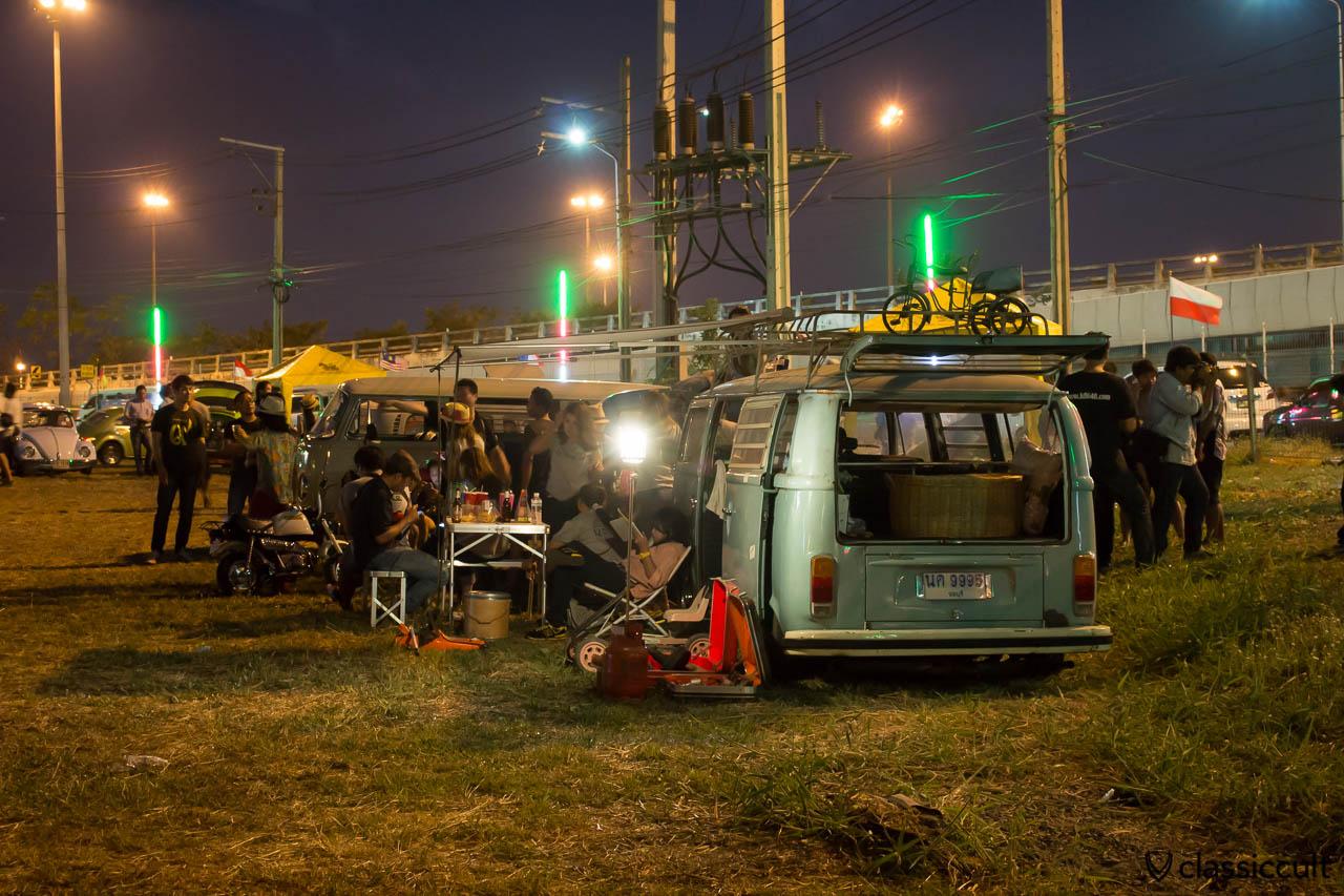 Siam VW Festival at night