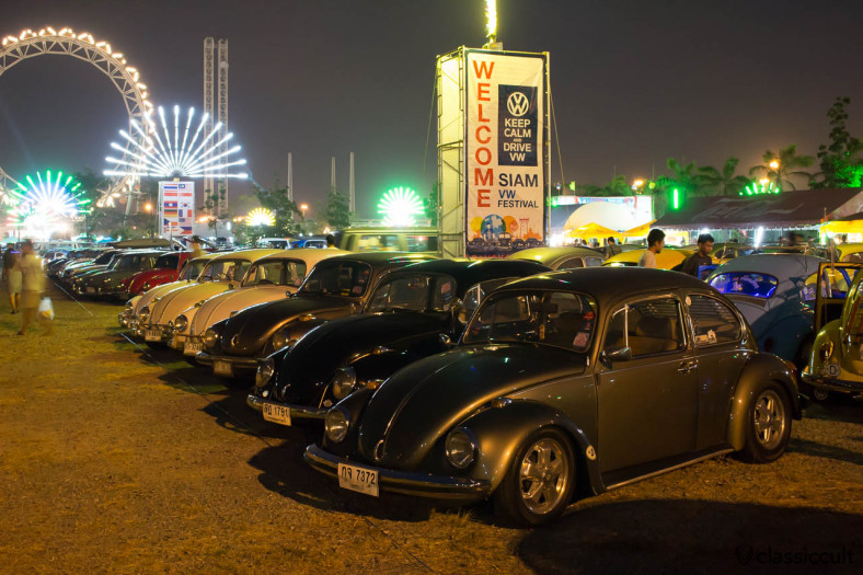 1972 VW Beetle Siam Show Bangkok