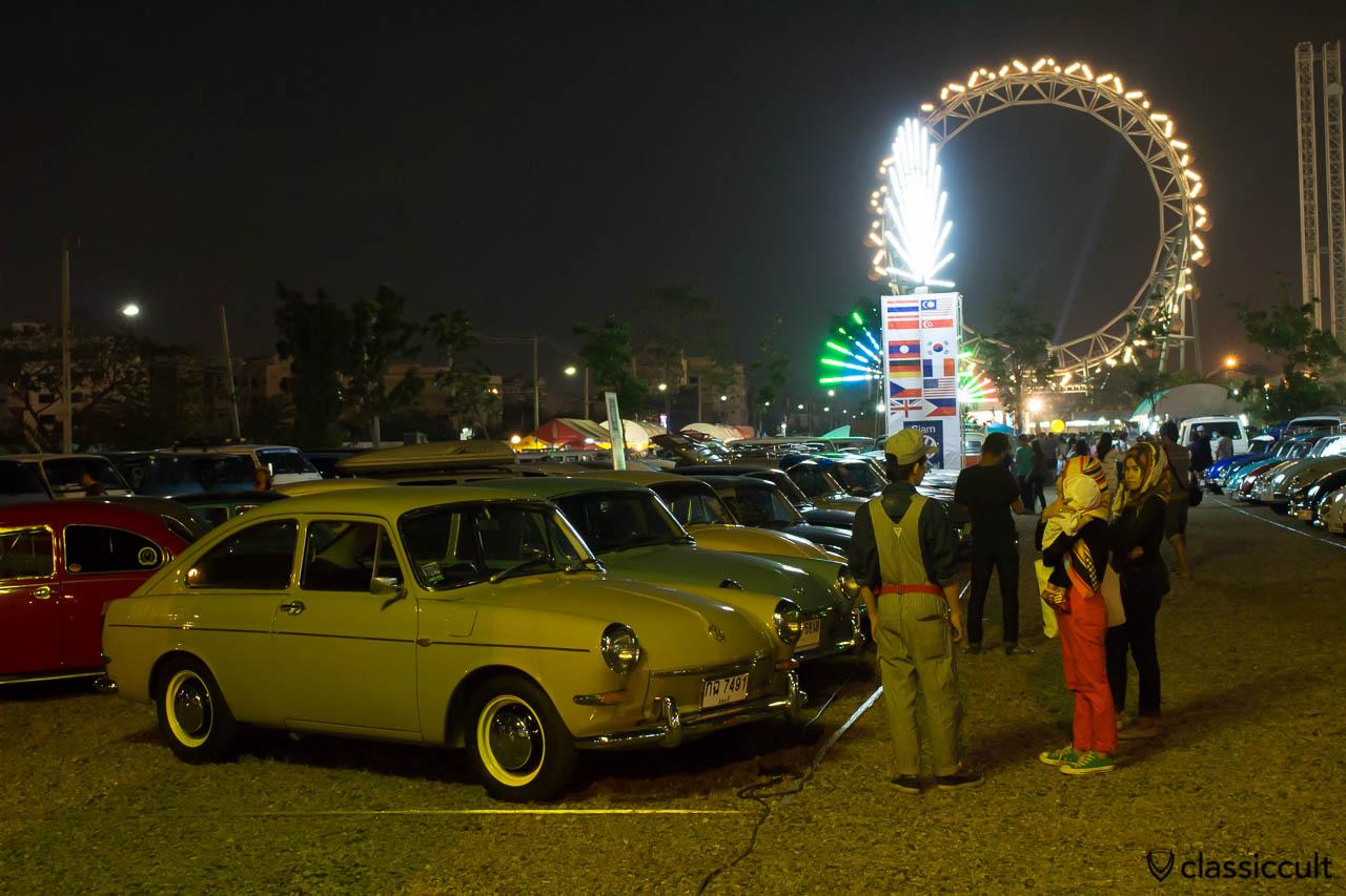 1974 VW fastback Siam Show Bangkok