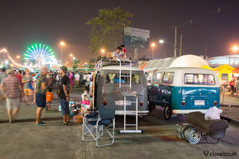 Siam VW Festival at Night
