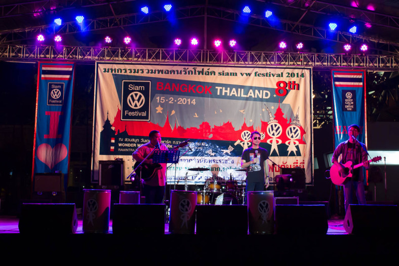 live band, Siam VW Show
