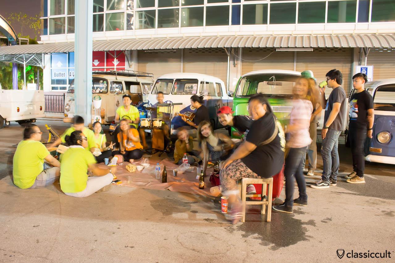 Thai VW Fans having fun at Siam Festival