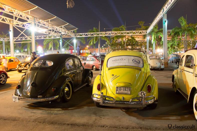 1967 VW 1300 rear, Bangkok, Thailand