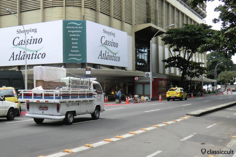 Single Cab Bay Window VW Bus, Ipanema, Rio, Brazil, May 22, 2013