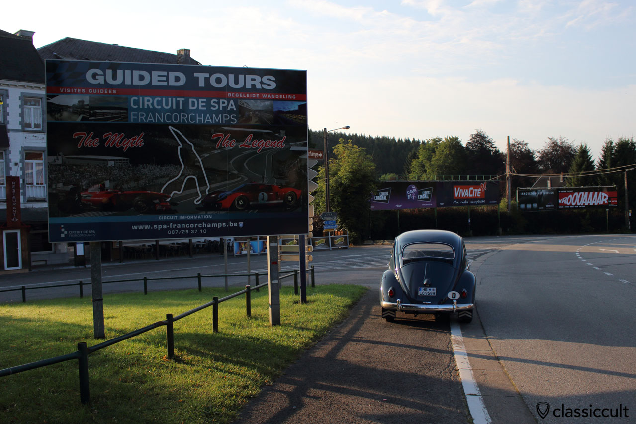 My VW Beetle at Bug Show 2014 Spa Francorchamps