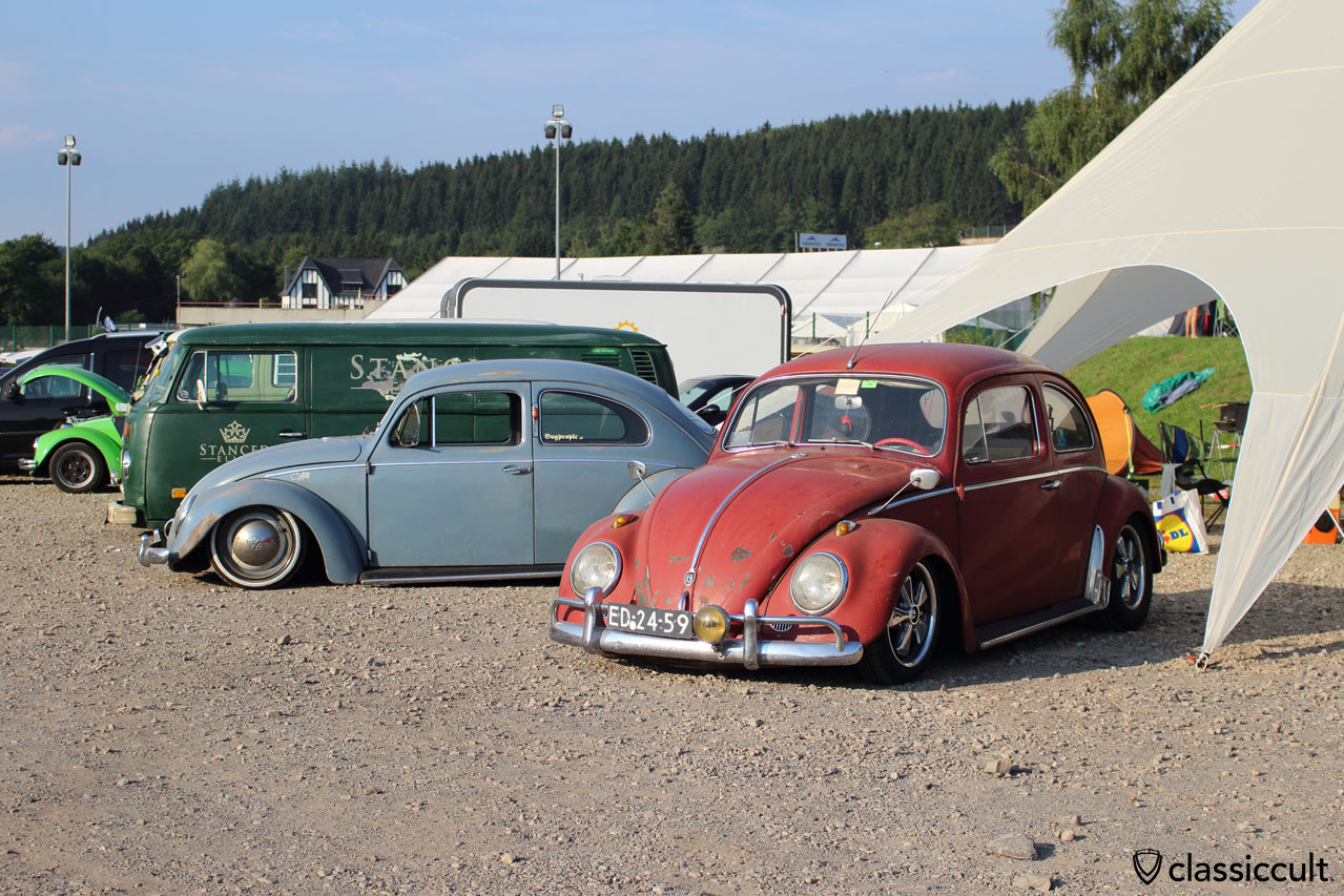 low 1959 VW Beetle, SPA Meeting 2014