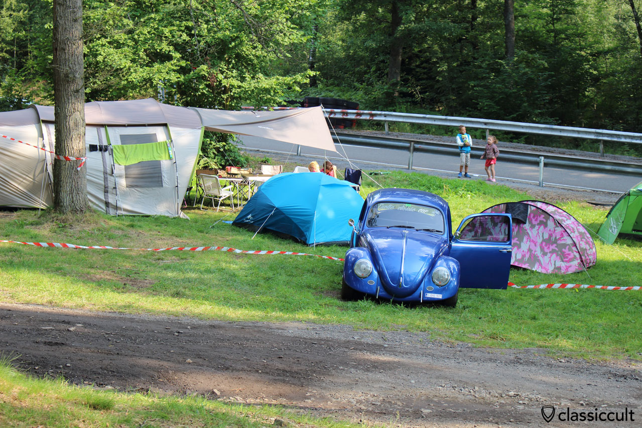 Camping at Spa Bug Show