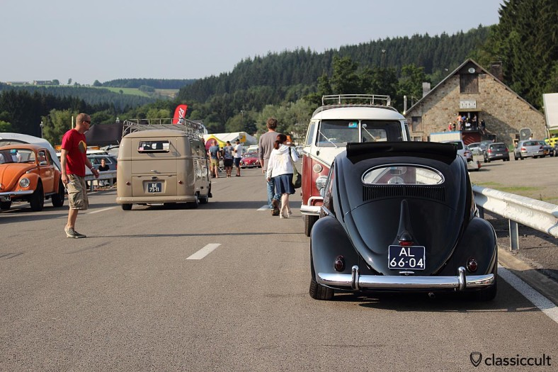 VW Oval Ragtop Bug Spa 2014