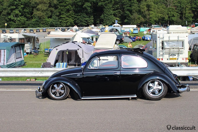 lowered VW Oval Ragtop