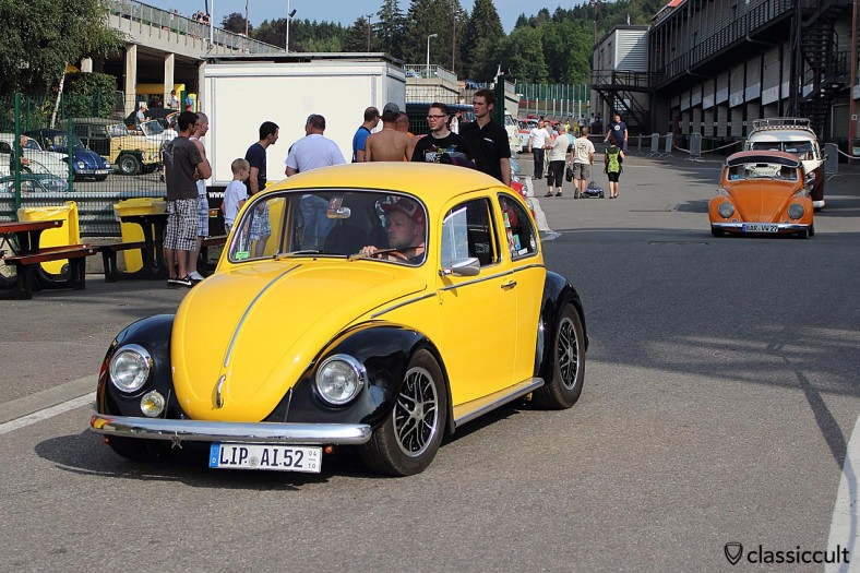 VW Beetle Spa-2014