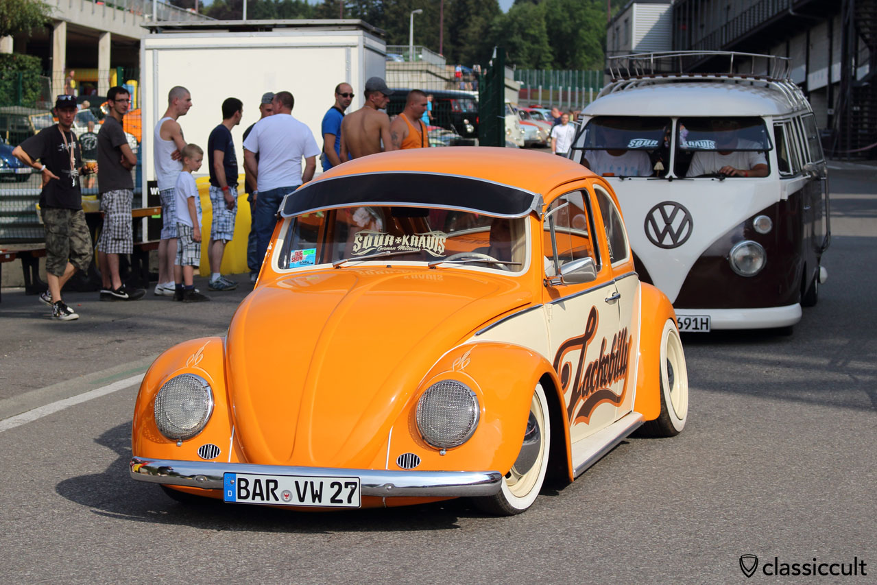 nice VW Bug with lackebilly ad