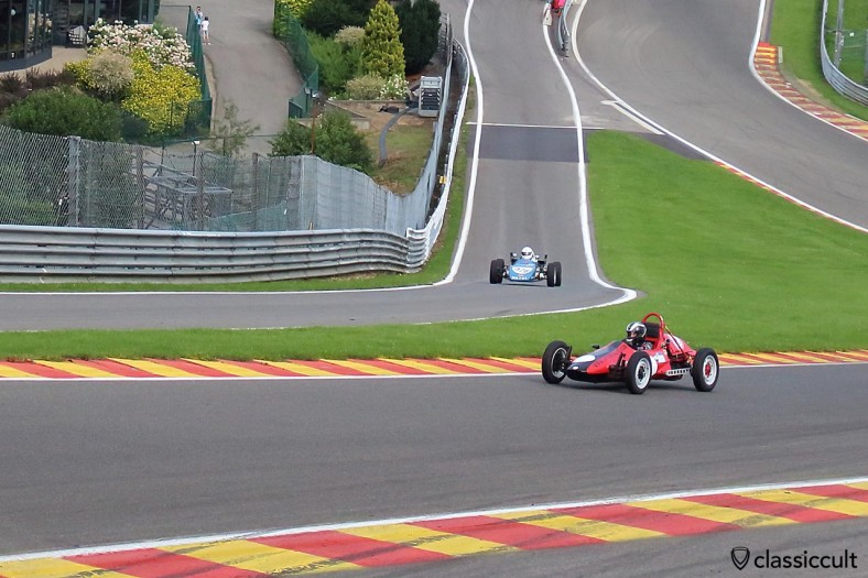 Formula Vee at Spa Francorchamps circuit