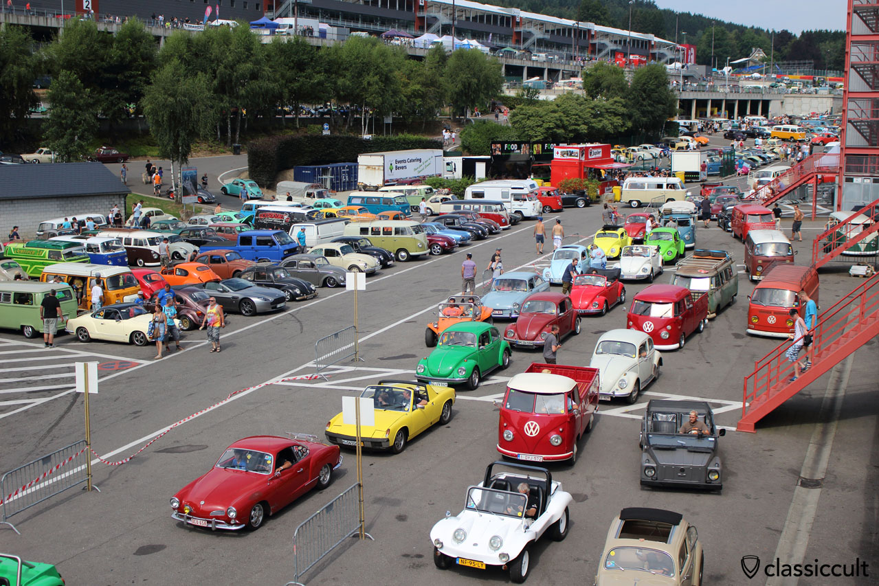 SPA VW Meeting 2014
