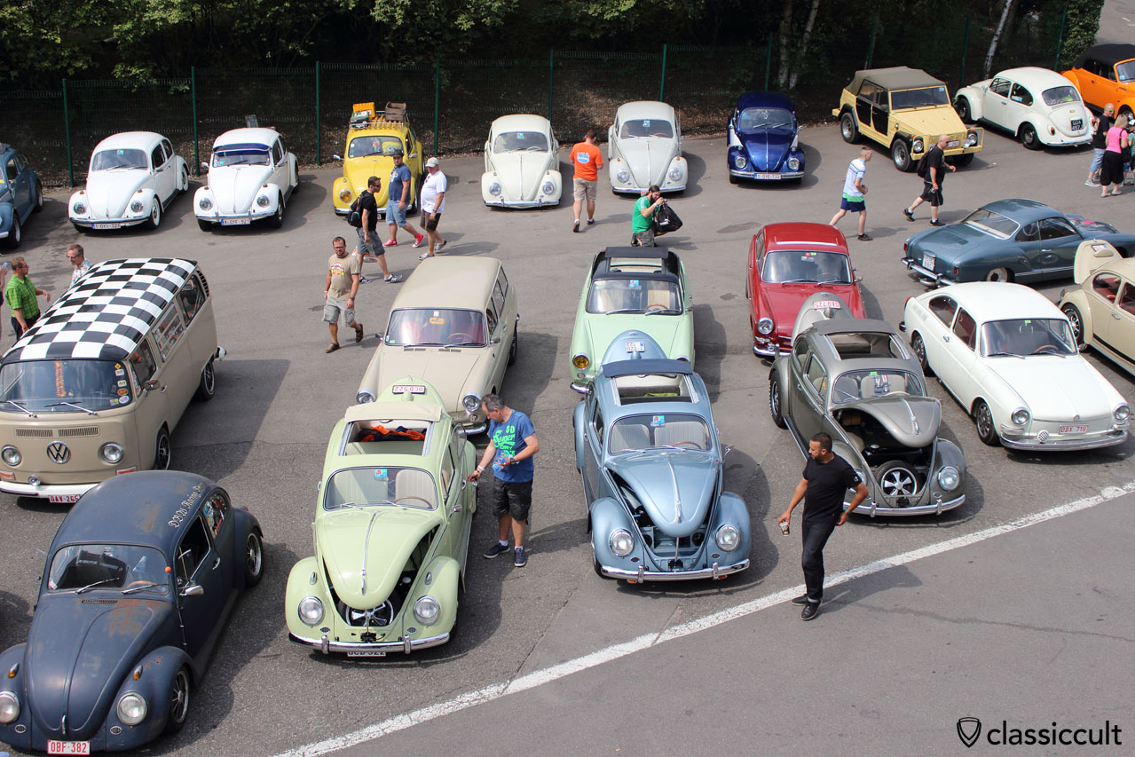 VW Bug Show in Spa, Belgium