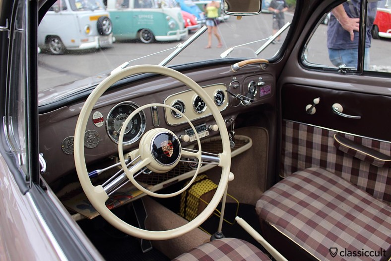 Oval Bug dash with rare accessories