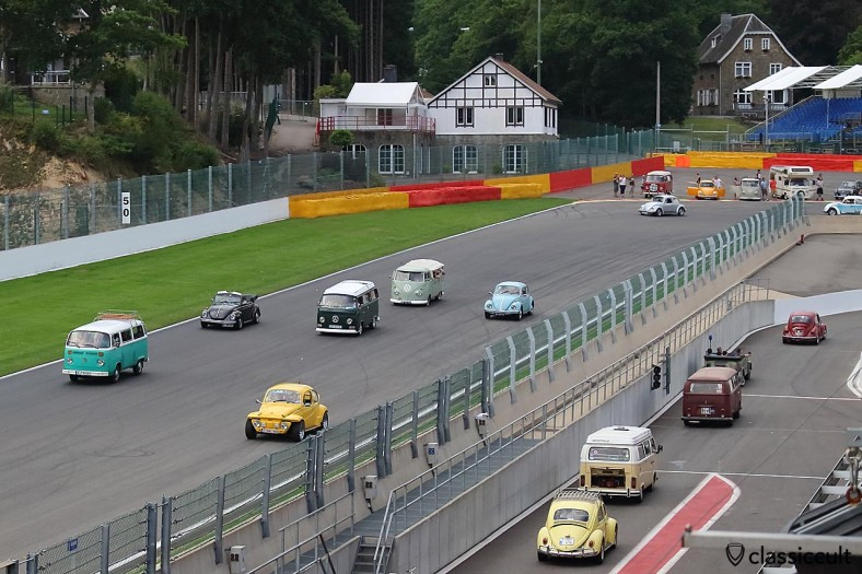 Bugshow Circuit Spa-Francorchamps Parade