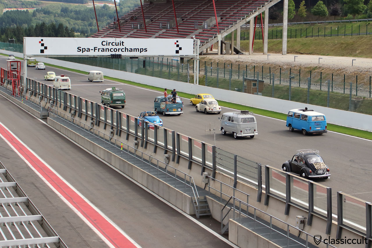 Bug Show Parade Spa-Francorchamps 2014