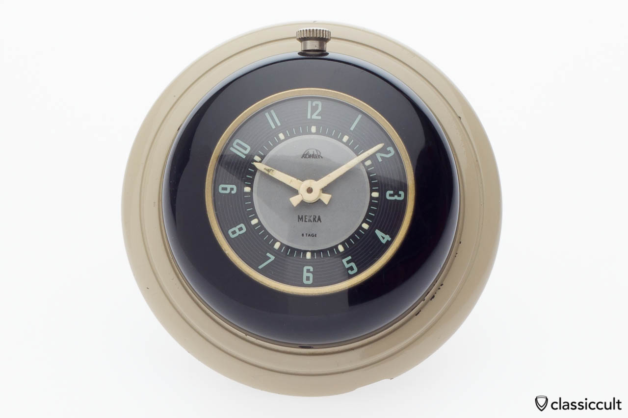 Mekra Koehler VW Split bug steering wheel clock