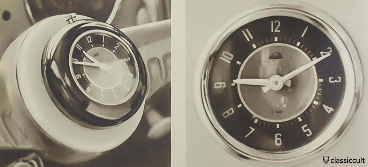 VW split bug steering wheel clock Catalog