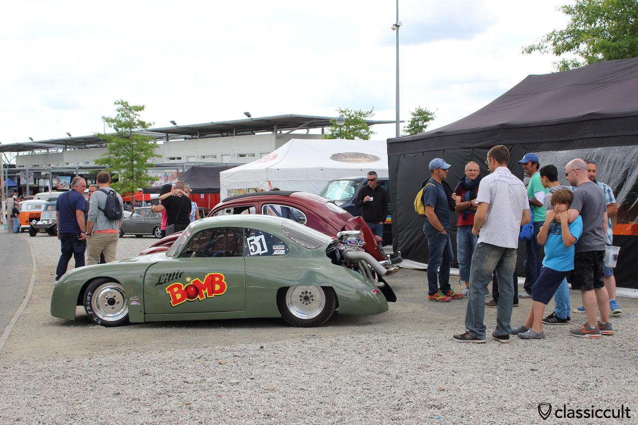 Little Bomb Porsche 356