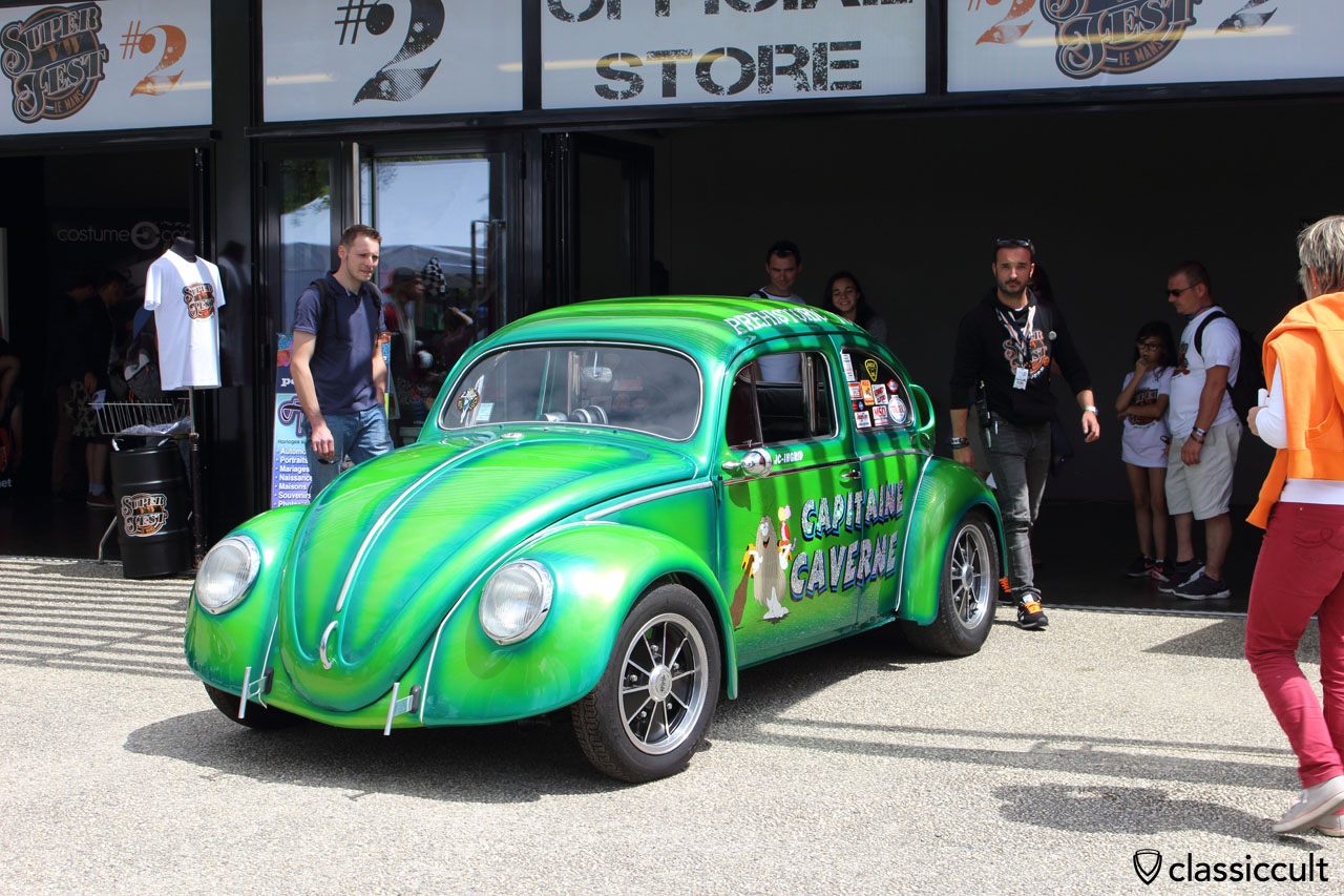 Capitaine Caverne VW Oval